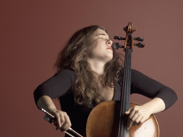 "Cellist Alisa Weilerstein, one of the newest MacArthur ""geniuses."""