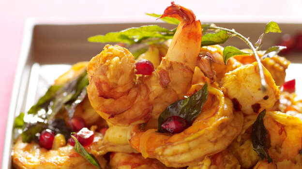 ... shrimp curry shrimp shallots curry leaves chochin jhinga recipe