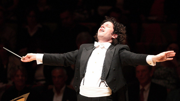 Gustavo Dudamel leads the L.A. Philharmonic and pianist Herbie Hancock in an all-Gershwin season opener. (Los Angeles Philharmonic)