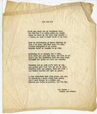 "The poem ""Rin Tin Tin,"" by Lee Duncan."