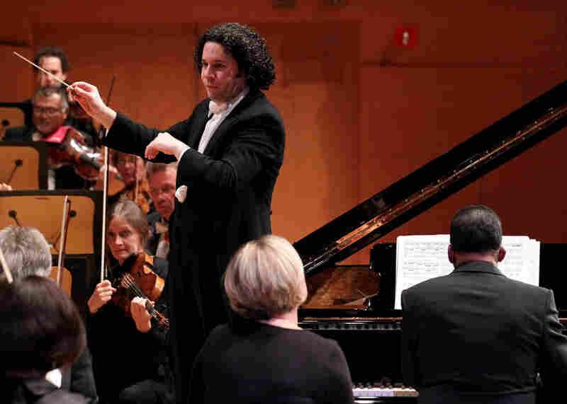 Hancock was the guest soloist for Gershwin's 'Rhapsody in Blue.'
