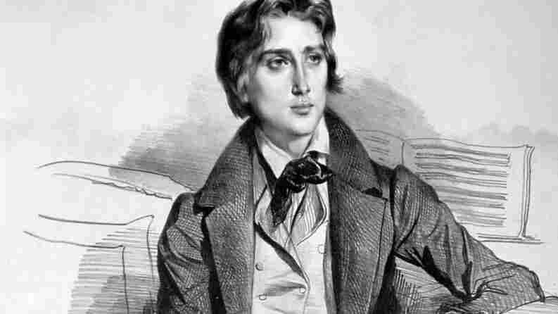 A lithograph of Franz Liszt, circa 1832.