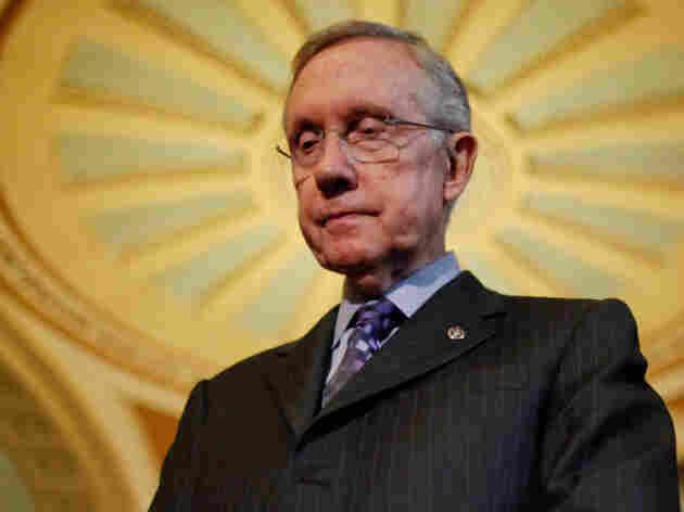 Senate Majority Leader Harry Reid (D-NV) at the Capitol last week.