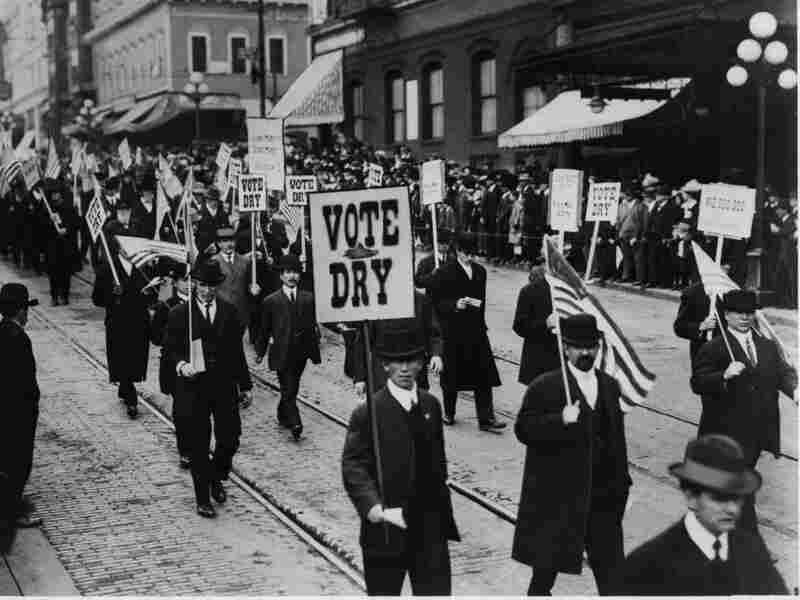 A three-night Ken Burns documentary examines every aspect of Prohibition, from the anti-alcohol movements of the 1840s to rallies that took place across America.