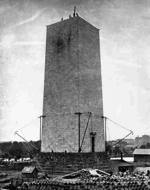 The monument was built between 1848 and 1884 but was not officially open to the public until Oct. 9, 1888.