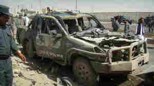 Deadly Blasts Strike Two Cities In Afghanistan
