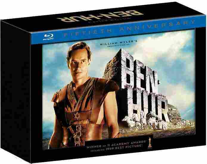 The newly released Ben-Hur Blu-ray edition.