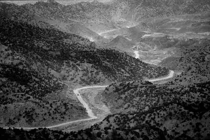 The road that leads to Khost and the Pakistan border, taken by the fleeing Taliban after the fall of Kabul in 2001
