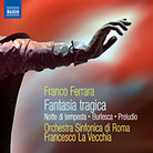 Cover art for Ferrara release on Naxos records.