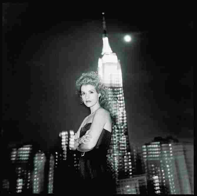 In New York, January, 1997, at the time of her Brahms Violin Concerto recording with the New York Philharmonic.