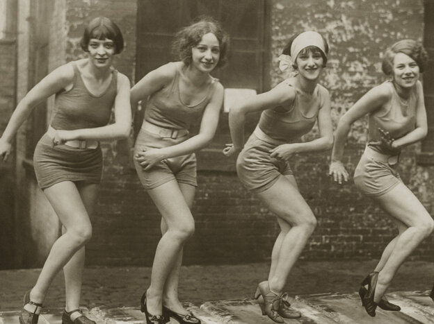 In 1926, everyone did the Charleston on ice.