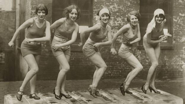 In 1926, everyone did the Charleston on ice. (The Image Works)