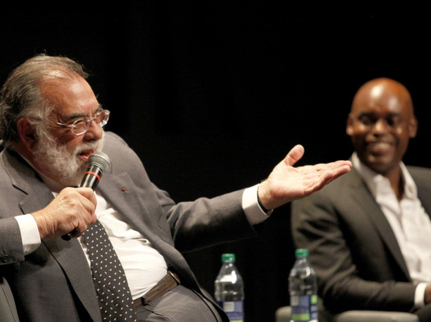 Coppola and Cameron Bailey, co-director of the Toronto International Film Festival, chat about Coppola's career during an event at this year's festival.