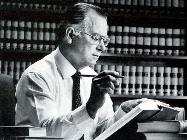 Cruz Reynoso was the first Latino justice on the California Supreme Court.