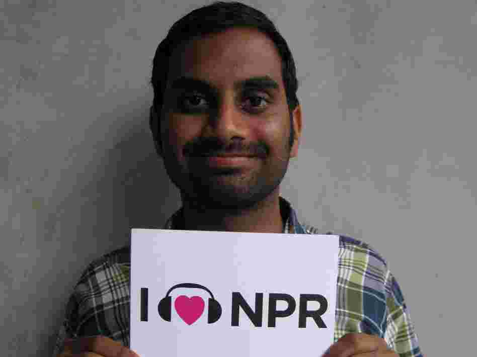 Aziz Ansari visits NPR West