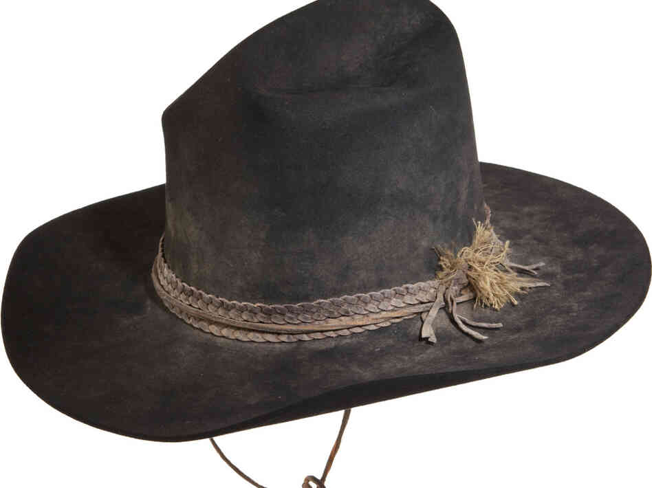 A hat worn by actor John Wayne in the 1975 film Rooster Cogburn is among the Wayne memorabilia to be offered for sale by Heritage auctions in October.
