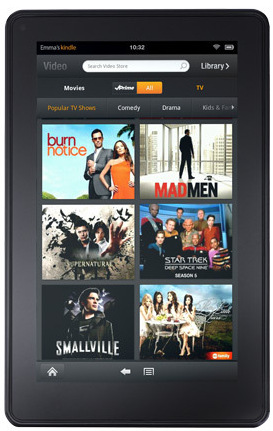 photo of Amazon Kindle Fire