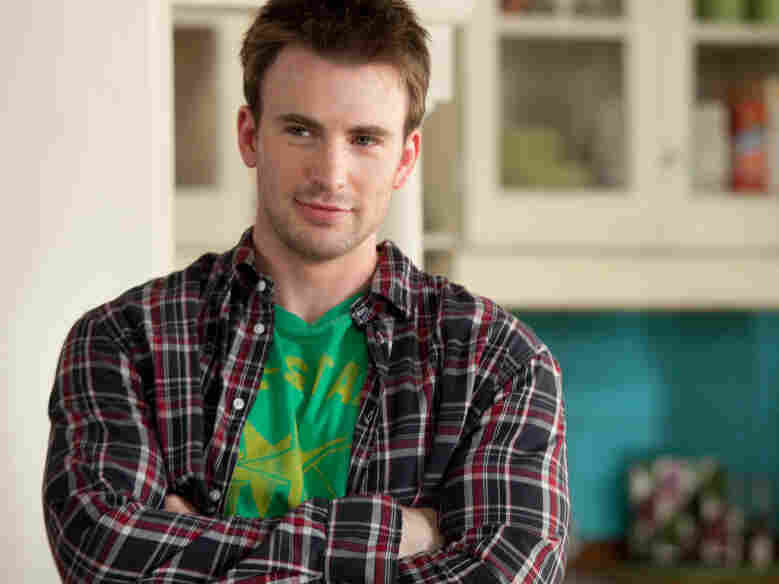 Chris Evans co-stars as the neighbor who helps Faris' character retrace her romantic steps in the quest for true love.