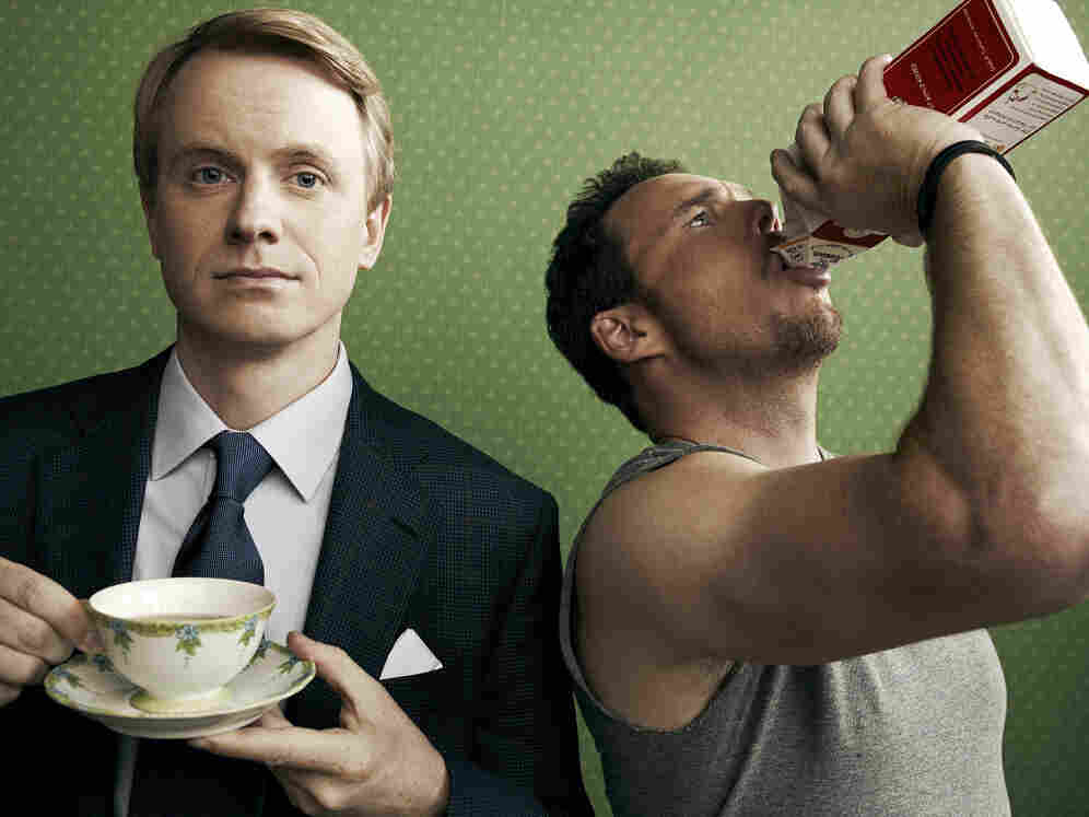 David Hornsby and Kevin Dillon star in CBS's How To Be A Gentleman.