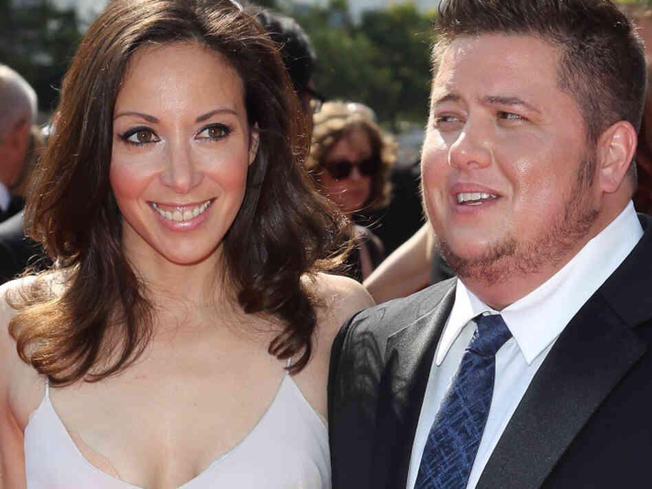Chaz Bono (R) and Jenniferchaz bono