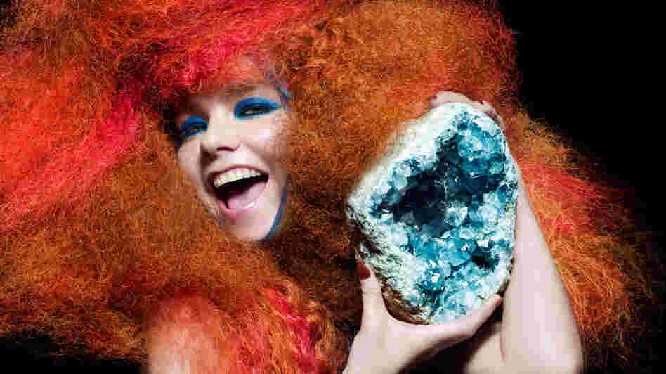 Bjork's Biophilia was created in collaboration with iPad app designers to create an interactive musical experience.