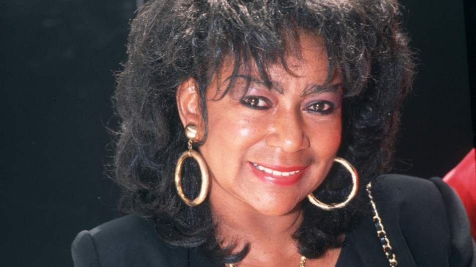 A press photo of Sylvia Robinson from around 1992.