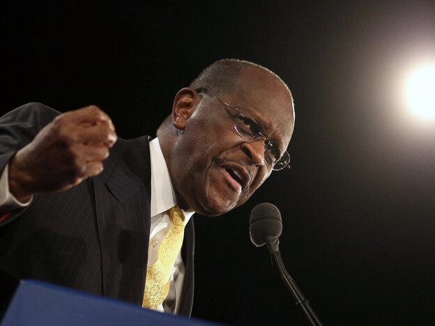 Herman Cain in Orlando, Fla., Sept. 24, 2011.
