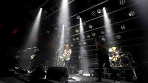 Radiohead performs live at the Roseland Ballroom in New York on Sept. 28.
