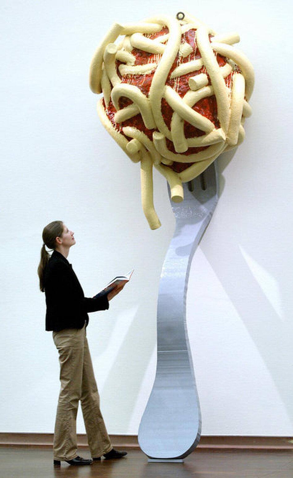 The Work Of Pop Art Master Claes Oldenburg Wbur Amp Npr