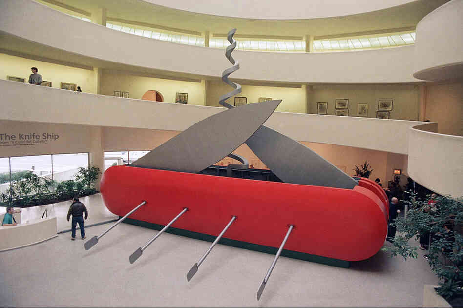 Pop Art Master Oldenburg Unveils Another Big Idea Npr