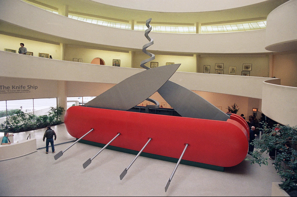 Pop Art Master Oldenburg Unveils Another Big Idea Ncpr News