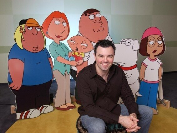 "Image result for Seth MacFarlane, ""Family Guy� (Fox)"