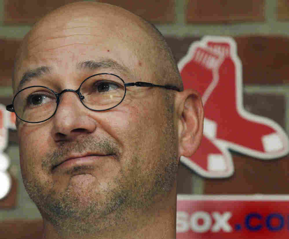 Boston Red Sox manager Terry Francona during a news conference at Fenway Park in Boston, Thursday (Sept. 29, 2011).