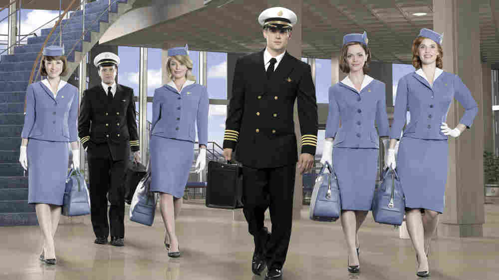 The cast of ABC's Pan Am.