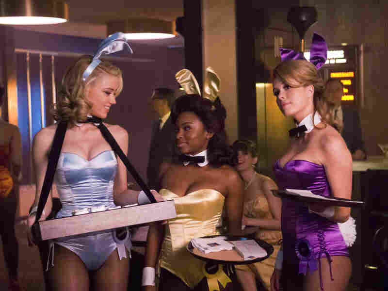 Actresses Amber Heard, Naturi Naughton and Leah Renee  in a scene from NBC's The Playboy Club.