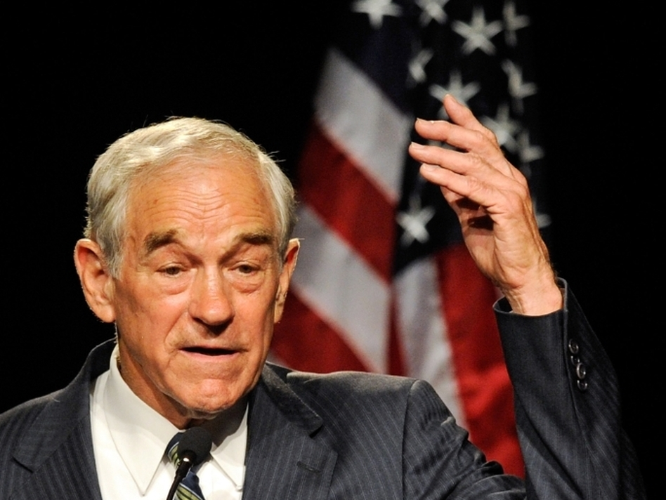 U.S. Rep. Ron Paul (R-TX). (Getty Images)