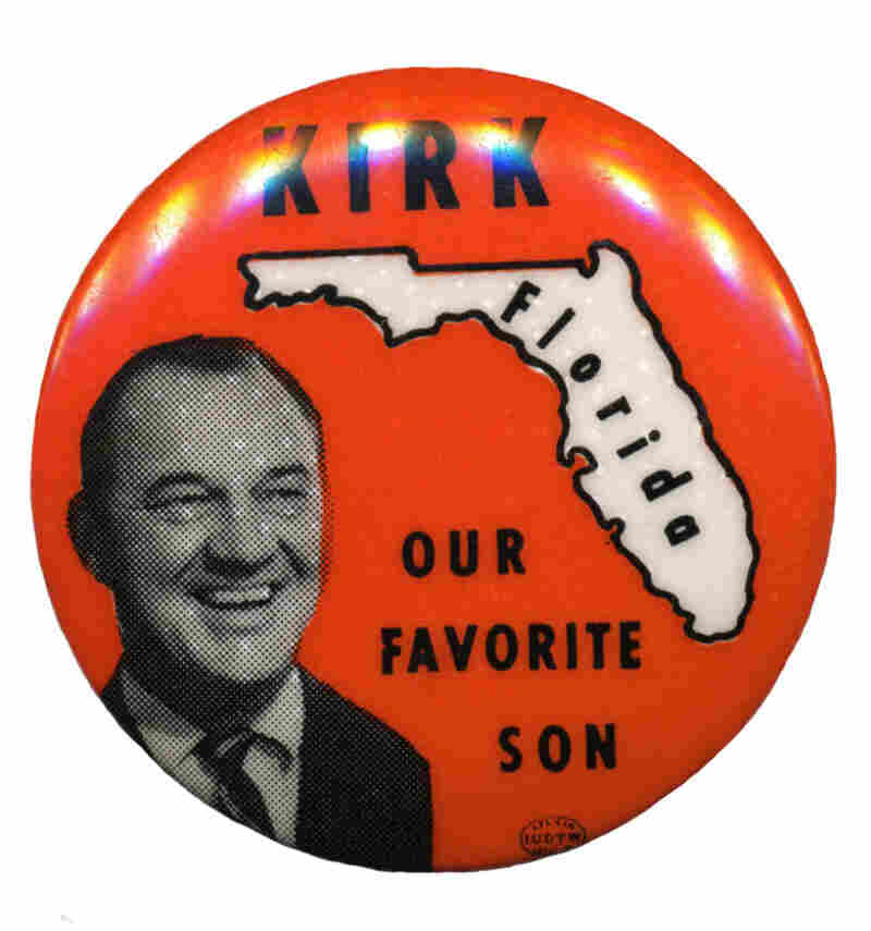 Kirk, Florida's favorite son candidate for president in 1968, made subsequent (and equally unserious) bids for the White House.