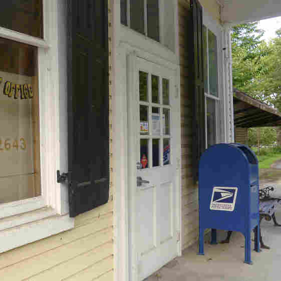 With its economic health in decline and future uncertain, the U.S. Postal Service is considering closing hundreds of post offices nationwide, many of them in rural areas like this local post office in Markham, Va.