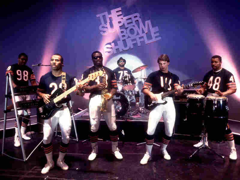 """The Chicago Bears showed some skills off the field and on the stage in 1985 when they recorded the """"Super Bowl Shuffle."""""""