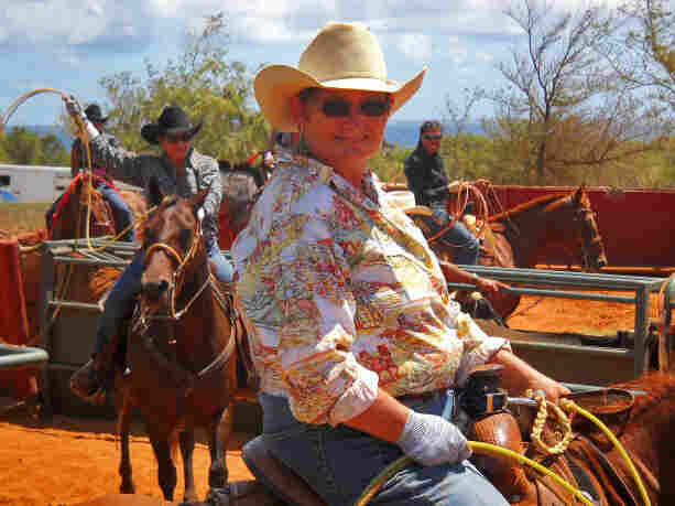 Stable owner Joyce Miranda says the history of Hawaiian cowboys stretches back as far as the Texas longhorn.