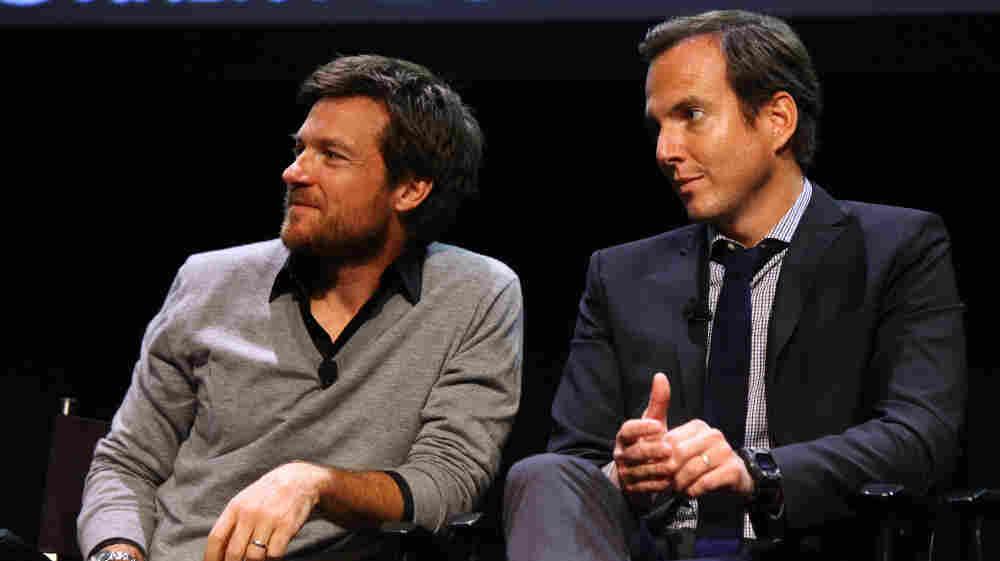 Jason Bateman (L) and Will Arnett attend The 2011 New Yorker Festival's Arrested Development Panel this weekend.