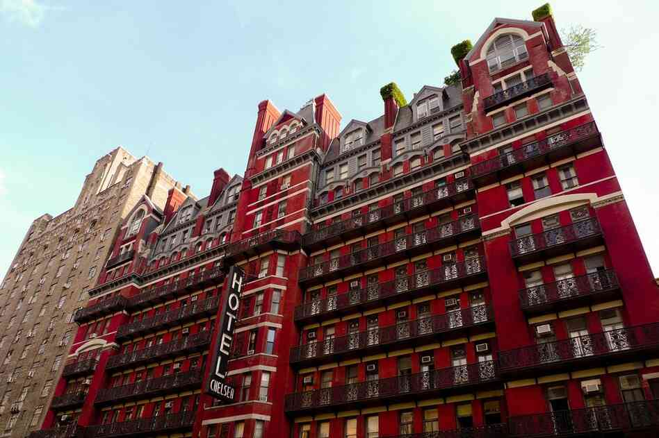 For more than half a century, New York City's historic Chelsea Hotel was a haven for writers, musicians and artists. Mark Twain, Jack Kerouac, Mark Rothko, Arthur C. Clarke and Bob Dylan are just a few of the scores of creative thinkers who spent time in the 12-story, West 23rd Street landmark.