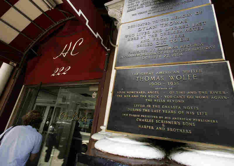 "The front entrance honors some of the hotel's many well-known residents, including Dylan Thomas, James Schuyler, Brendan Behan, Thomas Wolfe and Leonard Cohen. ""I remember you well in the Chelsea Hotel,"" Cohen wrote in his 1974 song ""Chelsea Hotel No. 2."""