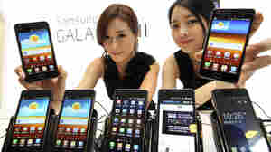 The Galaxy S II is a Samsung smartphone that runs on Android. Analysts say Microsoft could be getting as much as $15 for each phone Samsung sells.