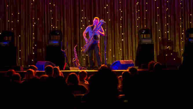 Colin Stetson plays the Paramount Theatre on Saturday afternoon.
