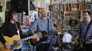 Fountains of Wayne performs a Tiny Desk Concert at the NPR Music offices.