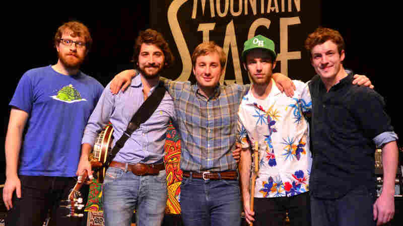 East Lansing roots band Frontier Ruckus perform on Mountain Stage.