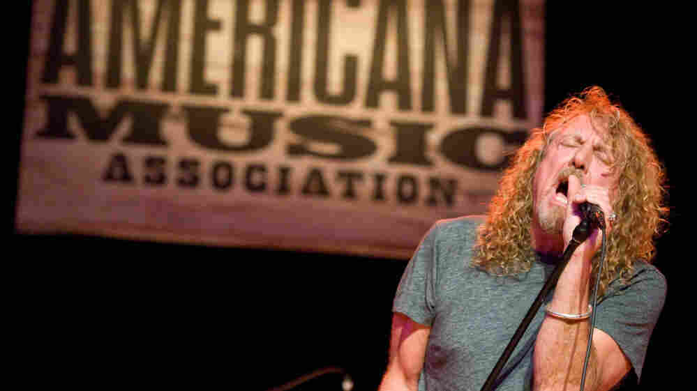 Robert Plant performs at the Americana Music Association's 2010 Honors and Awards Show.