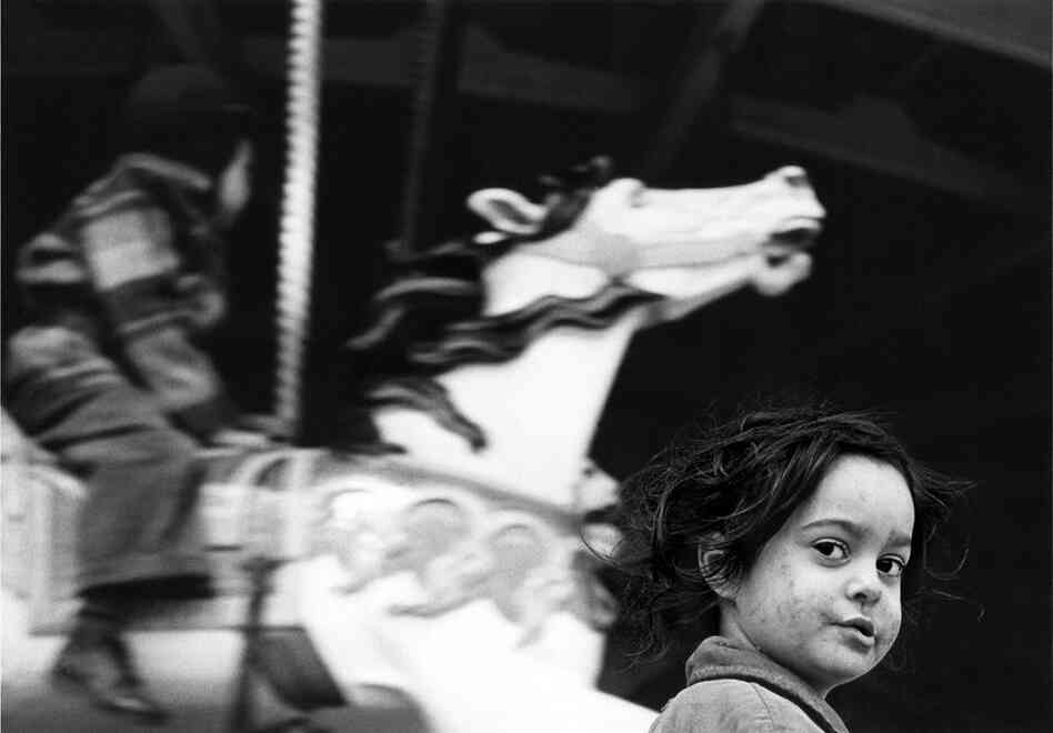 Gypsy Girl at the Carousel, 1949