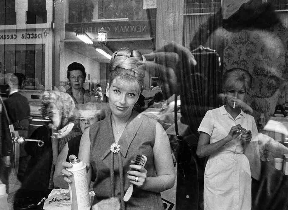 Beauty Parlor Window, Philadelphia, 1964